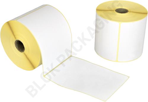 Verzendlabels 100 x 149,4 mm - 25,4 mm kern - PostNL / DPD / GLS / UPS - 500 per rol