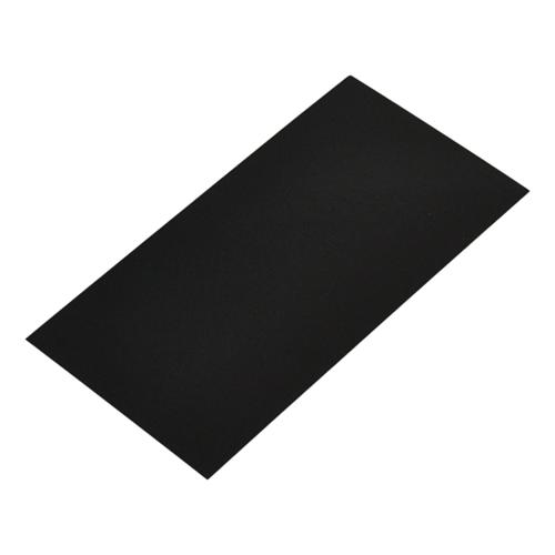 Bodemkarton voor blokbodemzakjes 80 x 50 mm - Zwart - per 100 stuks