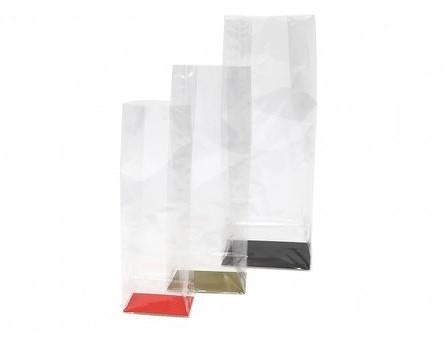 Bodemkarton 80 x 50 mm voor blokbodemzakjes PP</br>Per 100 stuks