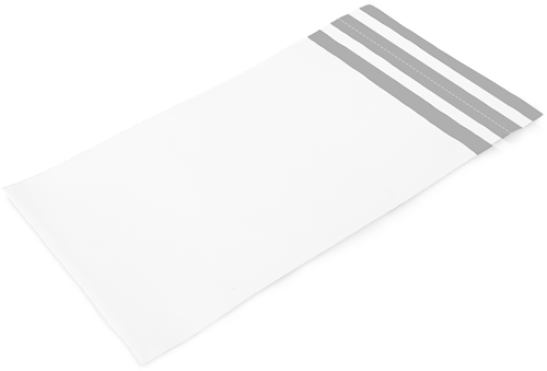 Verzendzakken met retourstrip 250 x 350 + 70 mm - 70 micron COEX - per 100 stuks