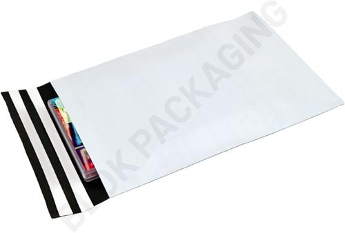 Verzendzakken 165 x 245 mm plastic (COEX) met retourstrip - per 100 stuks