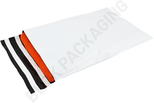Verzendzakken 255 x 355 mm plastic (COEX) met retourstrip - per 100 stuks