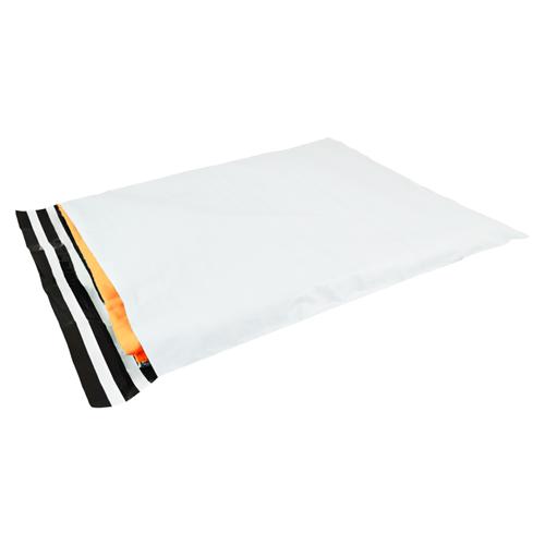 Verzendzakken 500 x 700 mm plastic (COEX) met retourstrip - per 250 stuks