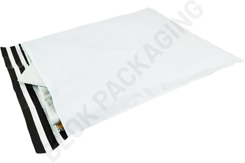 Verzendzakken 510 x 585 mm plastic (COEX) met retourstrip - per 100 stuks