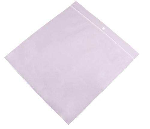 Gripzakken transparant 100 x 100 mm - 90 micron LDPE - per 1000 stuks