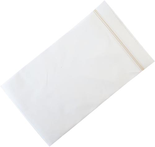 Gripzakken composteerbaar (bio-based) 80 x 120 mm - 50 micron PLA - per 1000 stuks