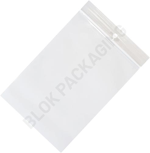 Gripzakken transparant 100 x 150 mm - 50 micron PP - per 1000 stuks