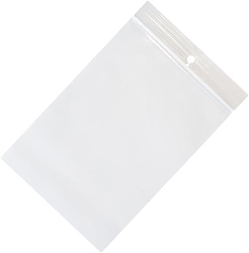 Gripzakken transparant 80 x 120 mm - 50 micron PP - per 1000 stuks