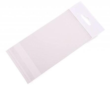 Headerbag 100 x 150 + 30 mm - 30 micron OPP - per 100 stuks