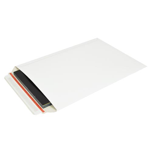 Kartonnen enveloppen 250 x 353 mm - 450 grams wit karton - per 100 stuks