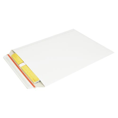 Kartonnen enveloppen 292 x 374 mm - 450 grams wit karton - per 100 stuks