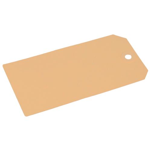 Kartonnen Labels 70 x 140 mm lichtbruin/chamois - per 1000 stuks