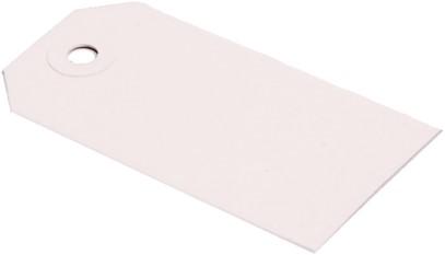 Labels (Nr. 6) 60 x 120 mm - 200 grams wit karton</br>Per 1000 stuks
