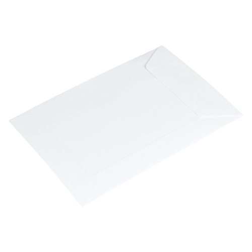 Loonzakjes 118 x 162 mm wit papier - per 500 stuks