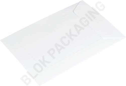 Loonzakjes 65 x 105 mm wit papier - per 1000 stuks