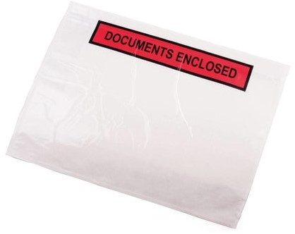 Paklijst envelop A5 - Documents Enclosed - per 1000 stuks