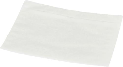 Paklijst envelop A6 - Transparant - Papier</br>Per 1000 stuks