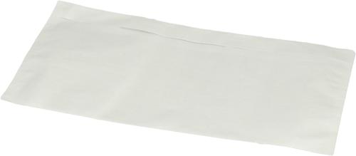 Paklijst envelop DL - Transparant - Papier</br>Per 1000 stuks
