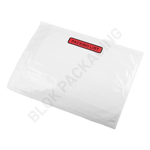 Paklijst envelop A4 - Packing List - per 500 stuks