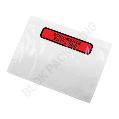 Paklijst envelop A6 - Documents Enclosed - per 1000 stuks