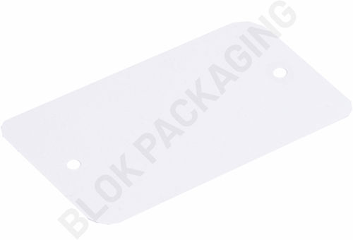 Labels 65 x 120 mm - wit plastic </br> Per 1000 stuks