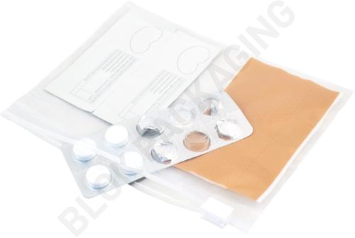 Ritszakken transparant 170 x 120 mm - 60 micron LDPE - per 100 stuks