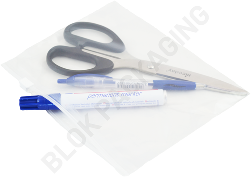 Ritszakken transparant 200 x 150 mm - 60 micron LDPE - per 100 stuks