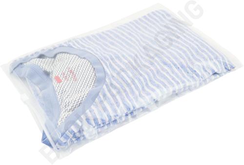 Ritszakken transparant 225 x 310 mm (A4) - 60 micron LDPE - per 100 stuks