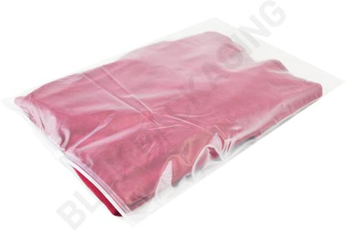 Ritszakken transparant 320 x 440 mm (A3) - 60 micron LDPE - per 100 stuks