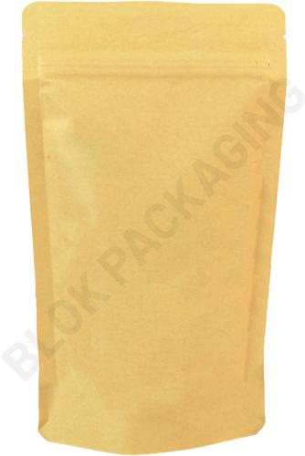 Stazakken kraftpapier 130 x 190 mm (500 ml) - per 100 stuks