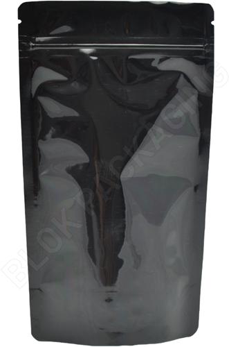 Stazakken zwart 130 x 200 mm (500 ml) - per 100 stuks