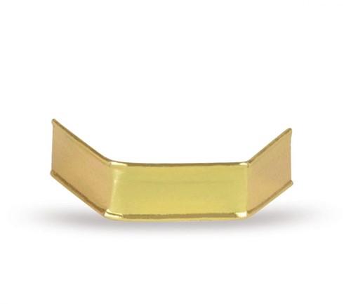 Sluitclips (U-Clips) 33 mm - goud - per 1000 stuks