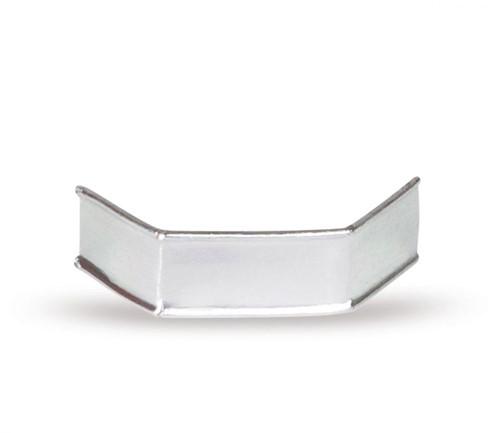 Sluitclips (U-Clips) 33 mm - zilver - per 1000 stuks