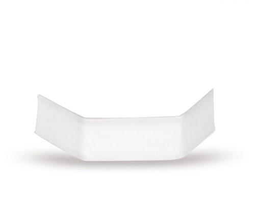 Sluitclips (U-Clips) 33 mm - wit - per 1000 stuks